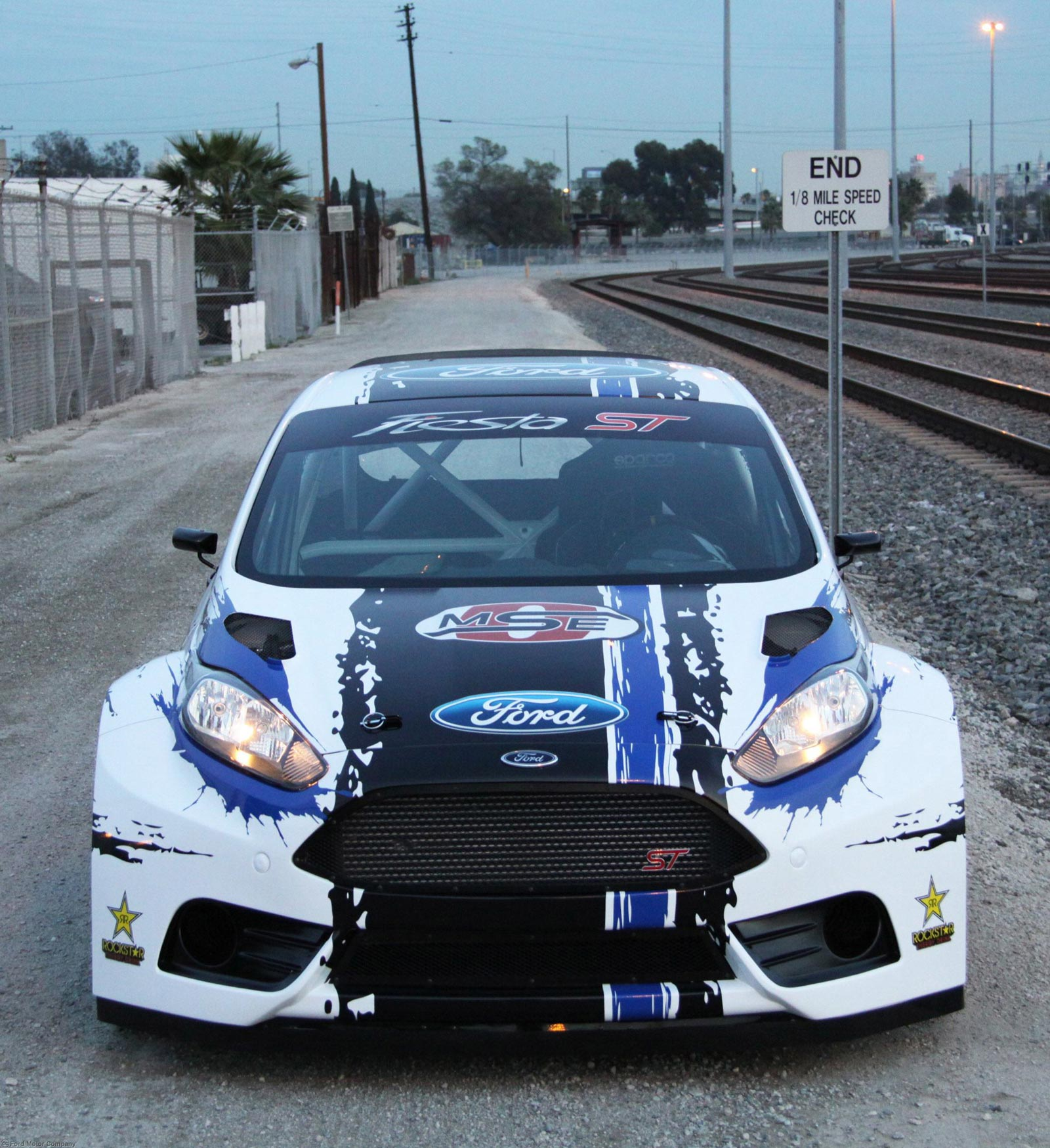 Champion Motors International: Ford Reveals Fiesta ST Race Car, Points At Road Ahead For