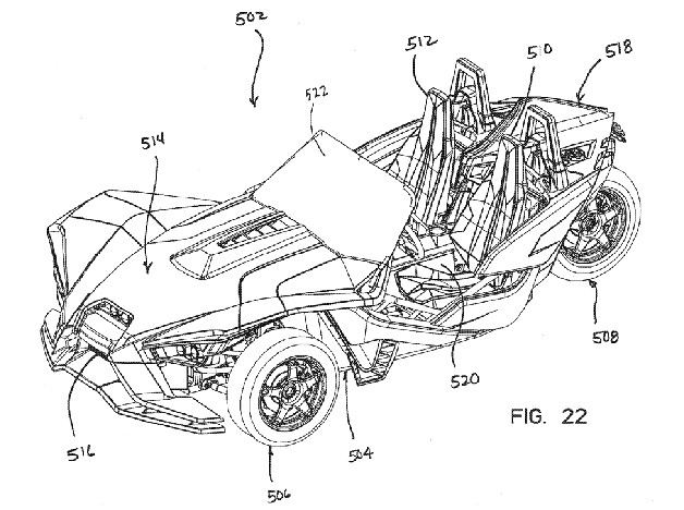 polaris patent reveals three