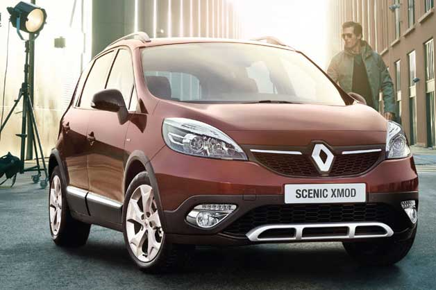 Renault Scnic Xmod - front three-quarter view