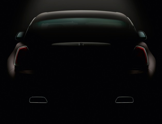 Rolls-Royce Wraith - rear end teaser