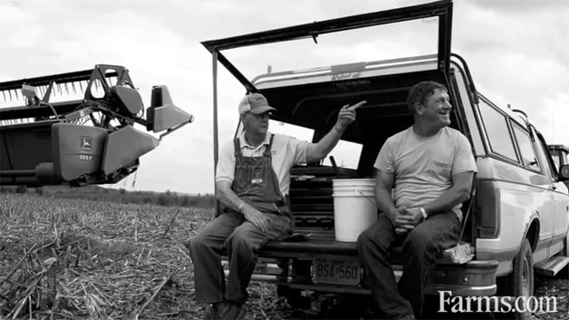 Farms.com farming ad that inspired Ram Truck's 2013 Super Bowl ad