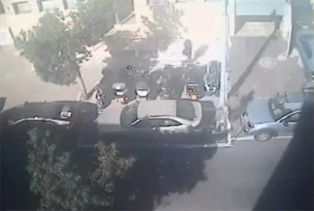 Tel Aviv parking video - screencap