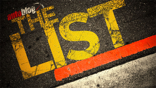 Autoblog's The List - 1,001 Car Things To Do Before You Die - title graphic