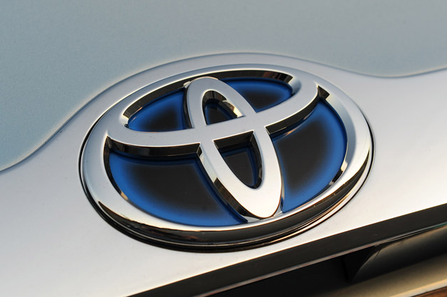 Toyota Camry Hybrid Emblem