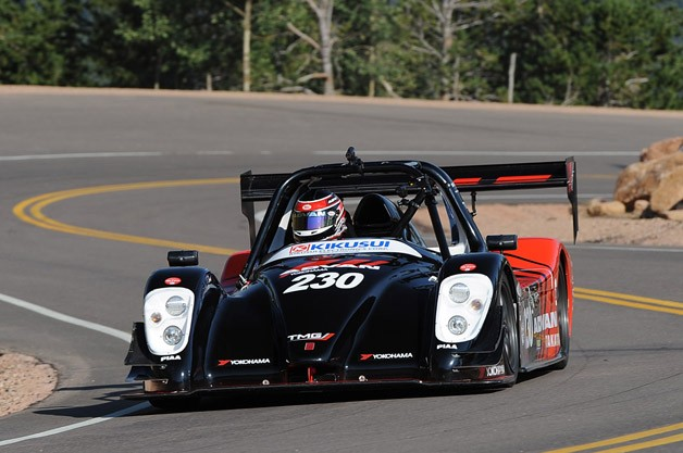 Toyota TMG EV P002 on Pikes Peak