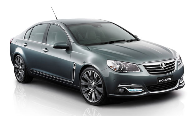 2014 Holden Commodore Calais - front three-quarter studio view