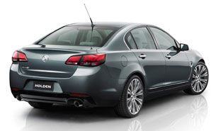 2014 Holden Commodore Calais - rear three-quarter studio view