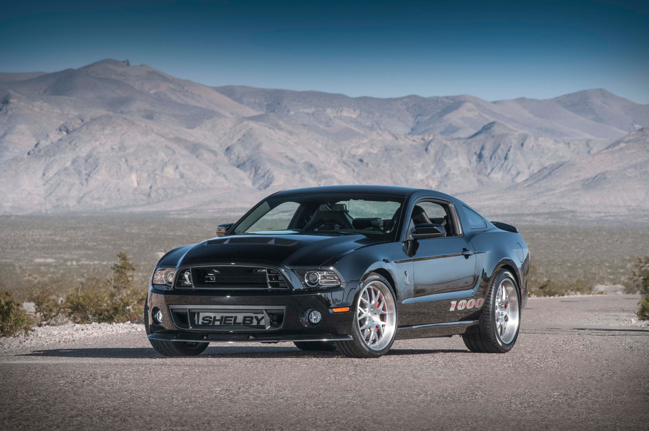 2013 Shelby 1000 Unleashes Its 1 200 Horsepower Ahead Of