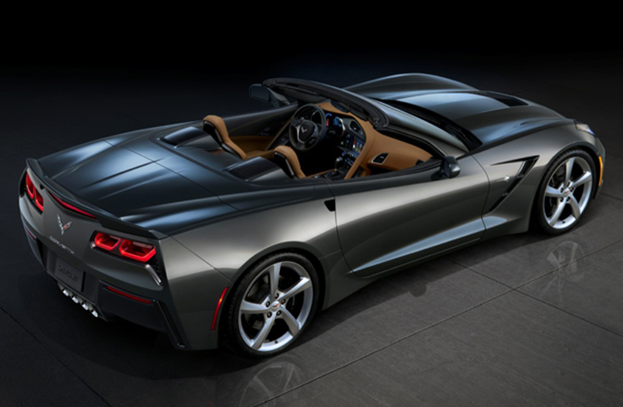 Black Book Car Values >> 2014 Chevrolet Corvette C7 Convertible offers a few more views before reveal - Autoblog