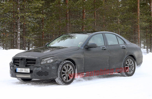 2014 Mercedes-Benz C-Class sedan spy shots