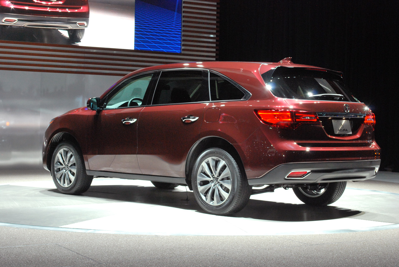 2014 acura mdx shows up exactly as expected autoblog. Black Bedroom Furniture Sets. Home Design Ideas