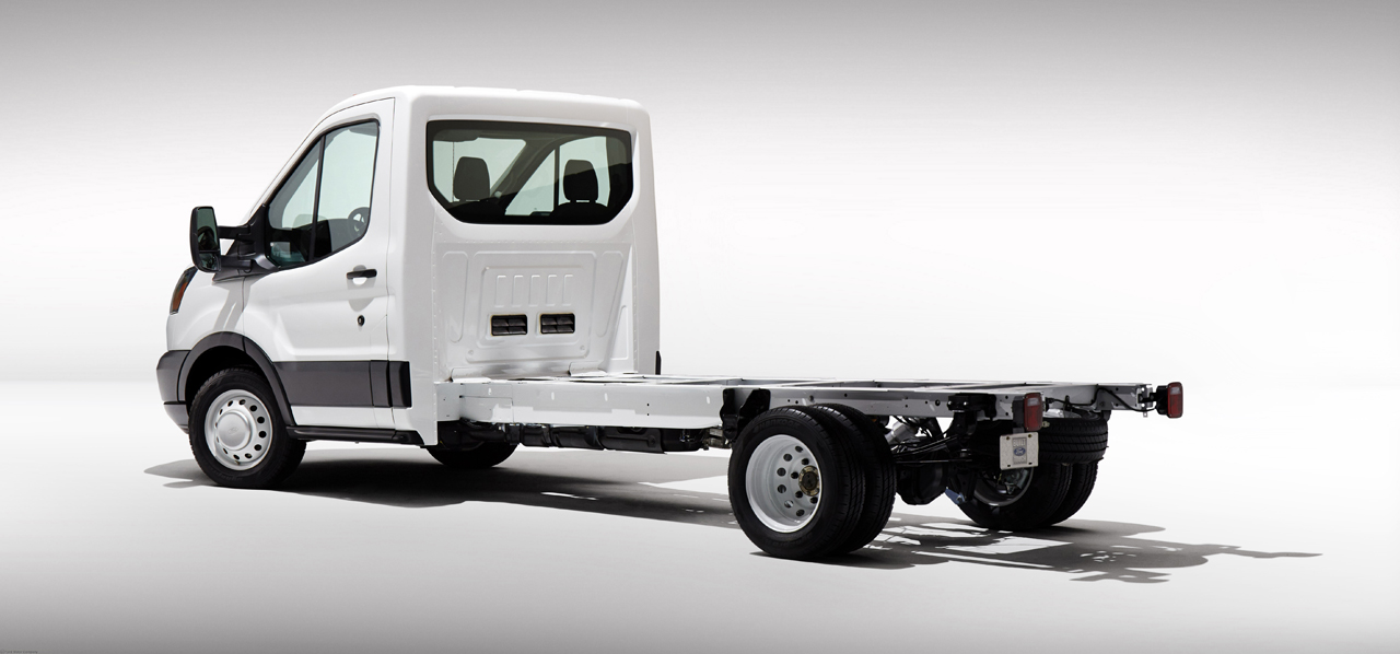 Ford Transit Cutaway >> 2014 Ford Transit unveiled in Chassis Cab and Cutaway versions - Autoblog