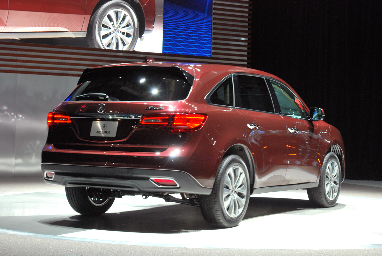 2014 Acura MDX shows up exactly as expected - Autoblog