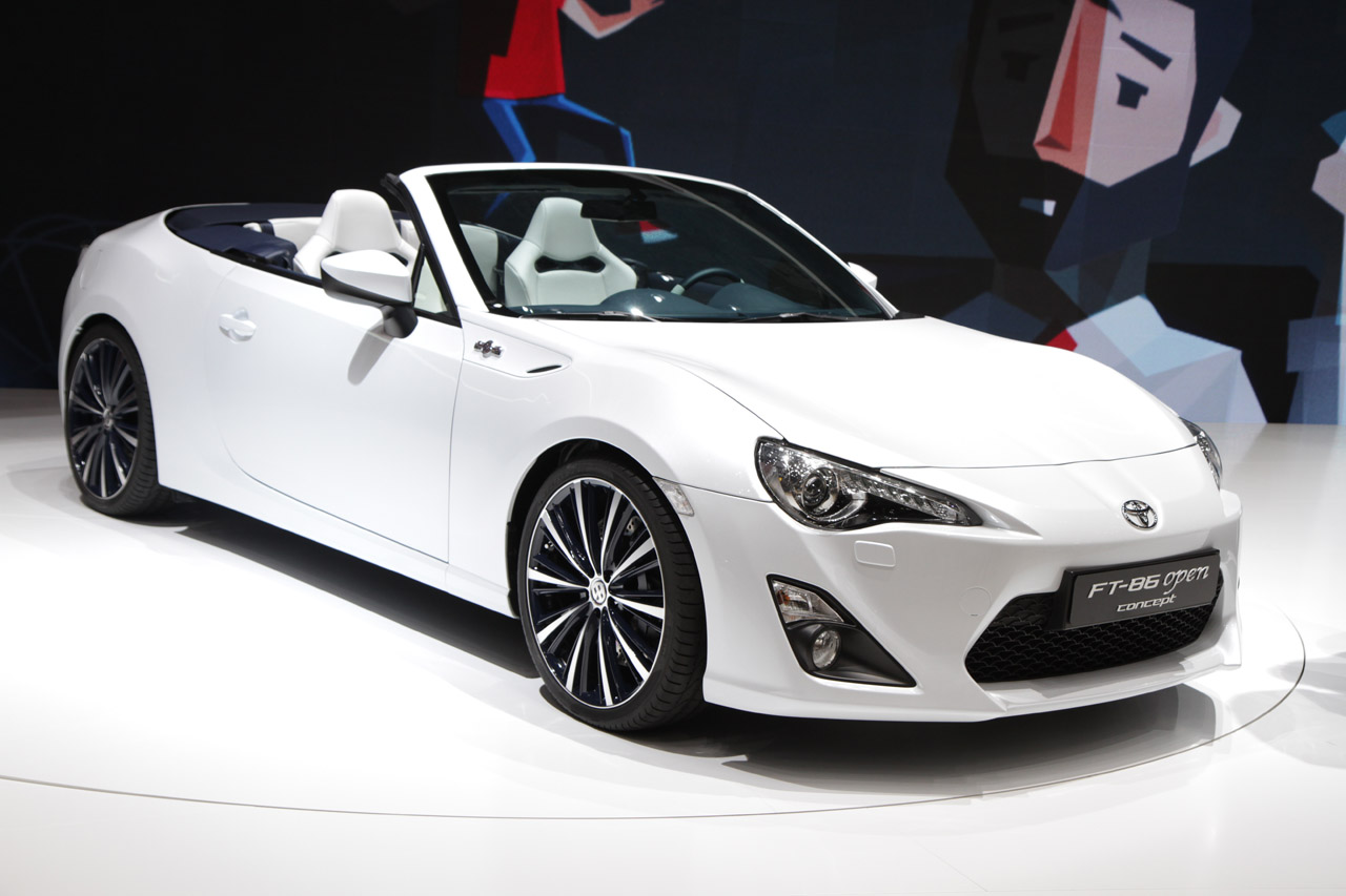Toyota FT-86 Open Concept would make a mighty fine droptop ...