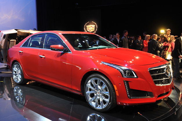 2014 Cadillac CTS debuts new design, twin-turbo power, Vsport model [w