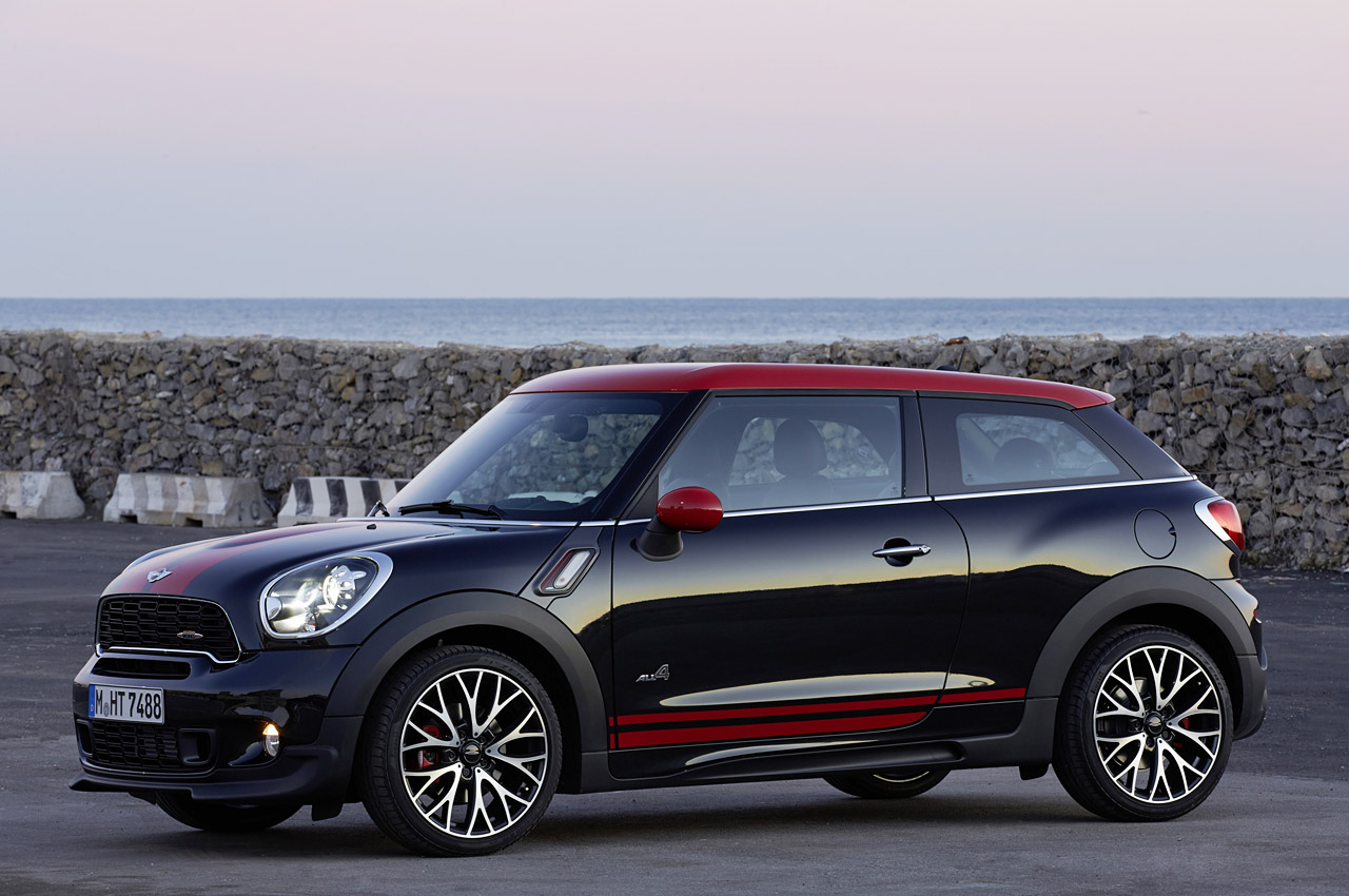 2014 mini john cooper works paceman all4 autoblog. Black Bedroom Furniture Sets. Home Design Ideas