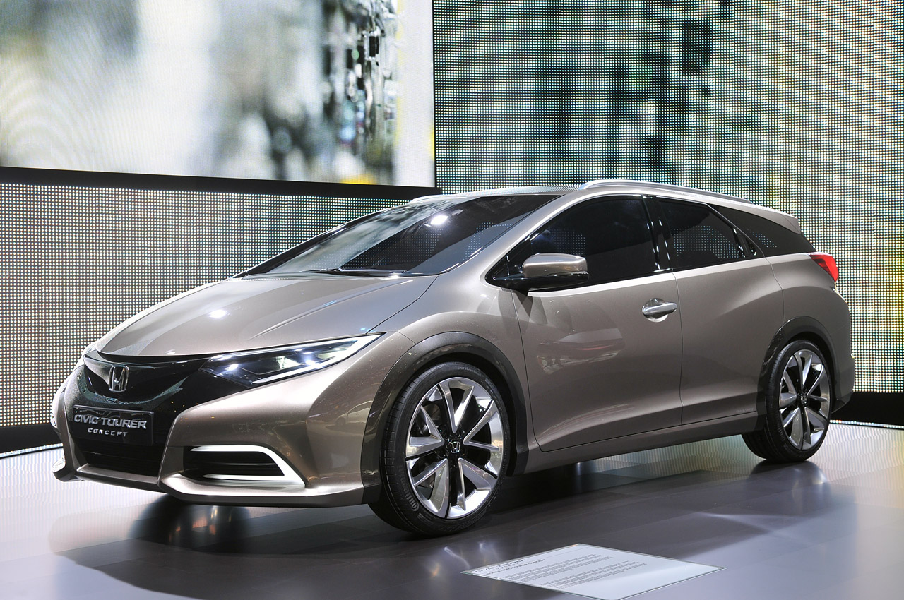 Honda Civic Tourer Concept Shows The Shape Of European