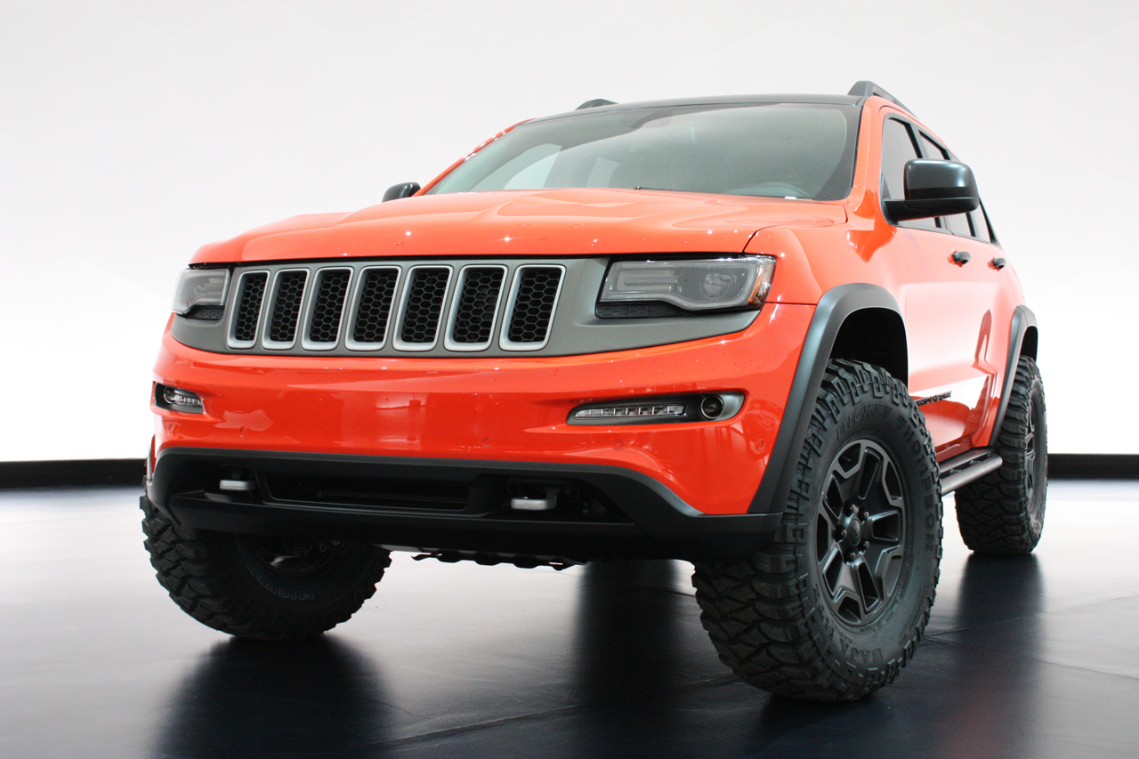 Jeep Grand Cherokee Trailhawk Ii Concept Photo Gallery