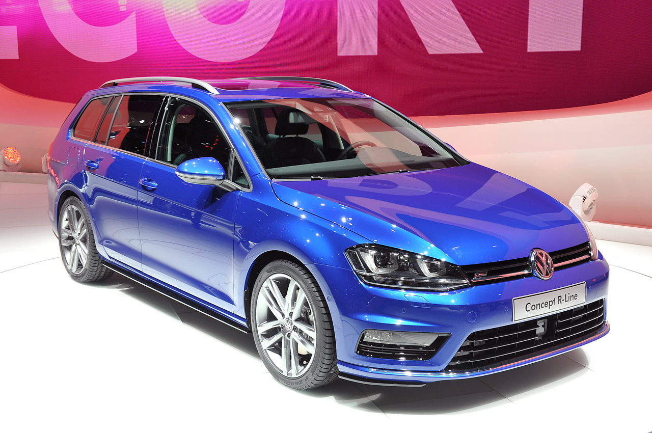 Volkswagen Golf Variant Concept R Line Puts The Sport In