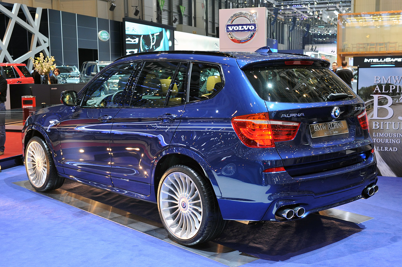 Alpina Tunes Its First Crossover Xd3 Bi Turbo Results