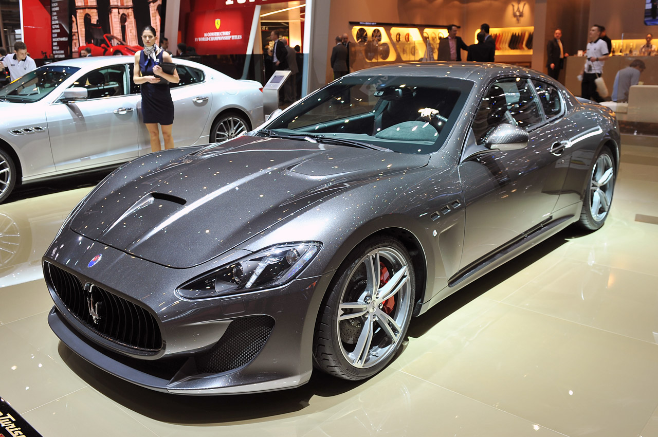 2013 maserati granturismo mc stradale gets its groove. Black Bedroom Furniture Sets. Home Design Ideas