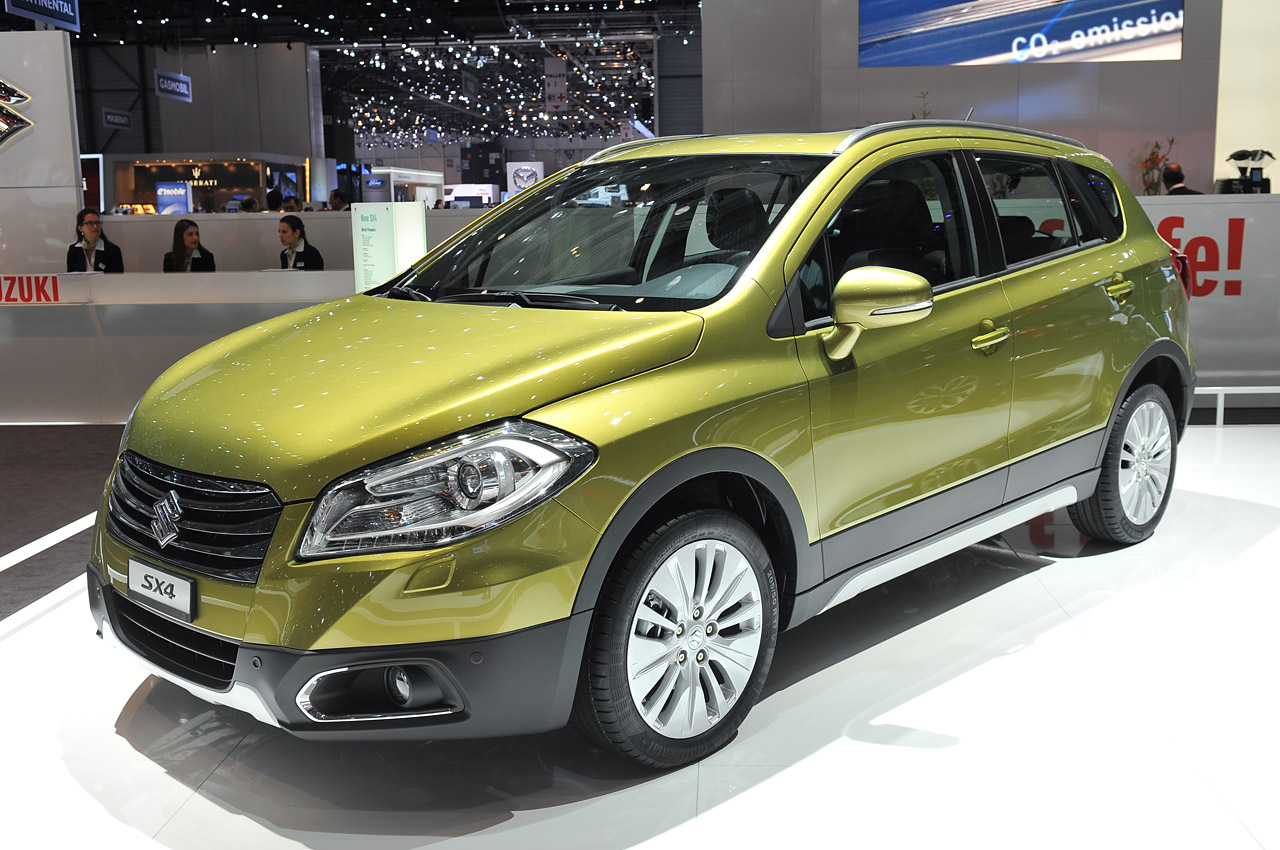 2013 suzuki sx4 gets new generation to carry on without us w video autoblog. Black Bedroom Furniture Sets. Home Design Ideas