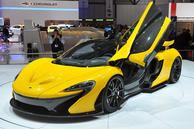 McLaren P1 -  front three-quarter view at Geneva Motor Show reveal