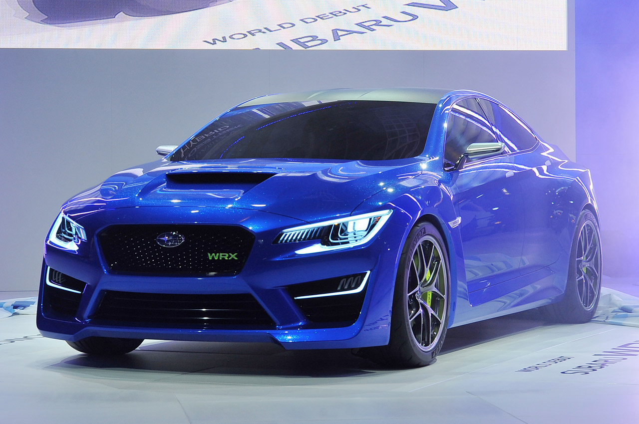 2014 Wrx Sti >> Subaru WRX Concept: New York 2013 Photo Gallery - Autoblog