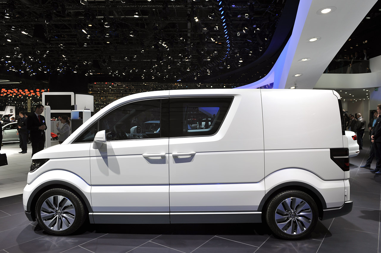 Volkswagen E-Co-Motion Concept brings electric mobility to