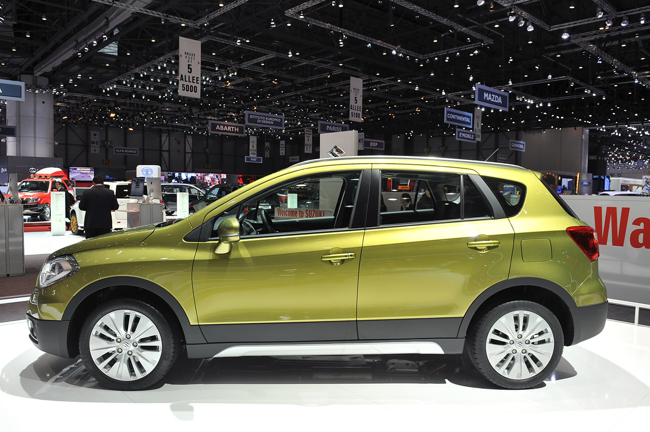 2013 Suzuki Sx4  Geneva 2013 Photo Gallery