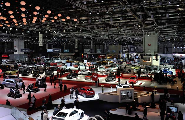 Geneva Motor Show 2013 - show floor overview