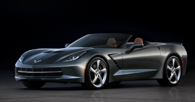 2014 Chevrolet Corvette Stingray Convertible - front three-quarter view