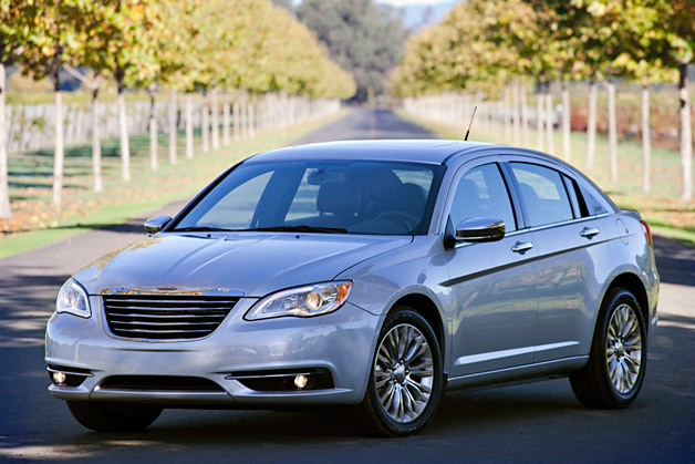 2013 Chrysler 200 - front three-quarter view