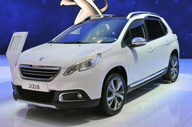 The 2013 Peugeot 2008 is the tellurian crossover with potency during the heart [w/video]