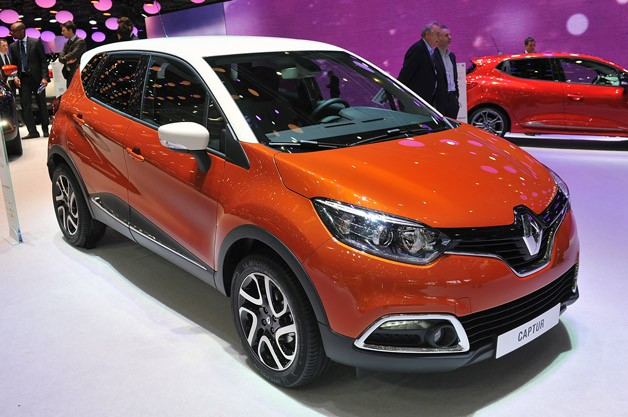 2013 Renault Captur live from Geneva Motor Show