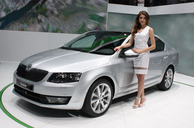 2013 Škoda Octavia hits Geneva in sedan as well as car trims [w/video]