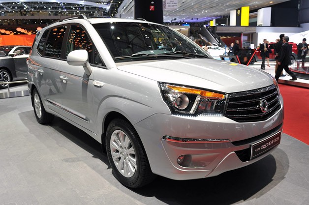 2013 Ssangyong Rodius