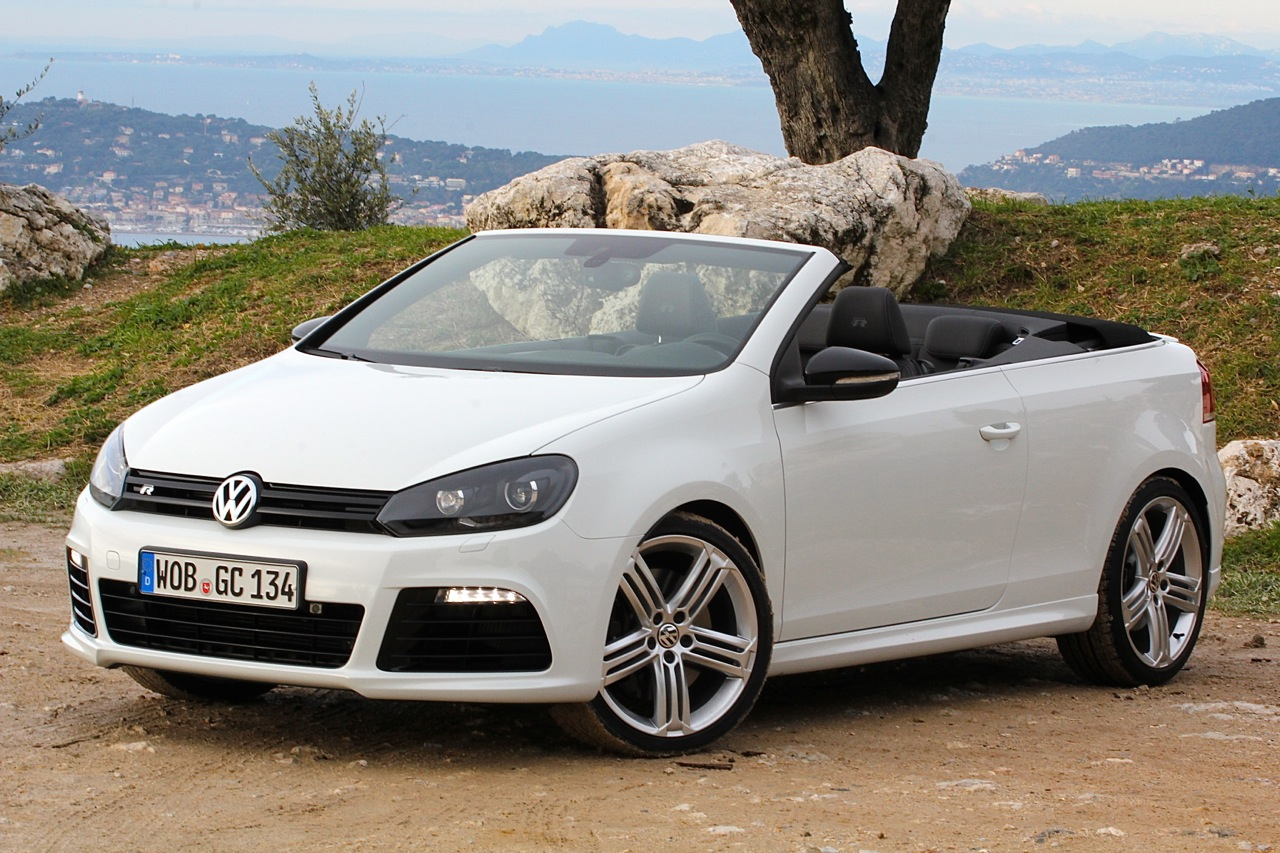 2013 volkswagen golf r cabriolet autoblog. Black Bedroom Furniture Sets. Home Design Ideas