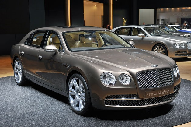 2014 Bentley Flying Spur creates the Swiss debut
