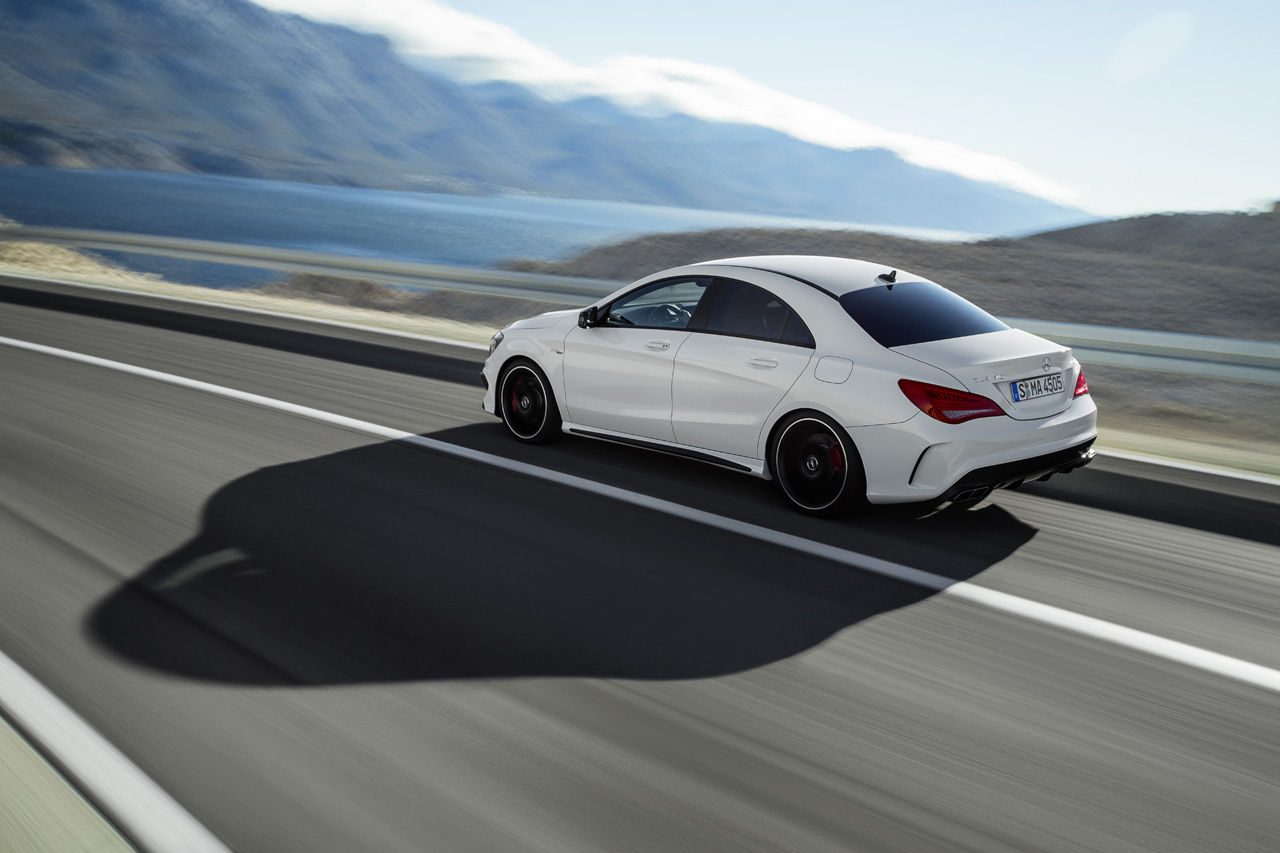 2014 Mercedes Benz Cla45 Amg Takes A Bite Out Of The Big
