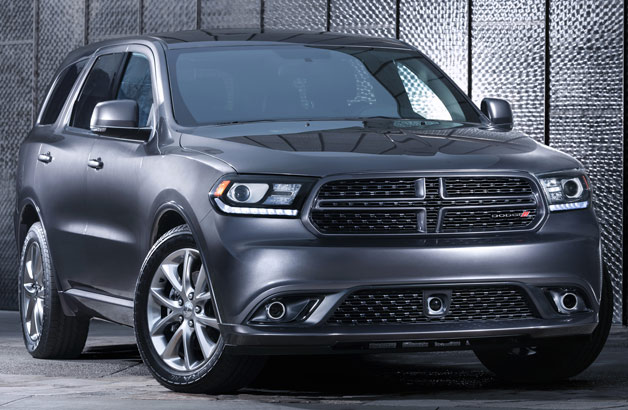 2014 Dodge Durango R/T - front three-quarter view