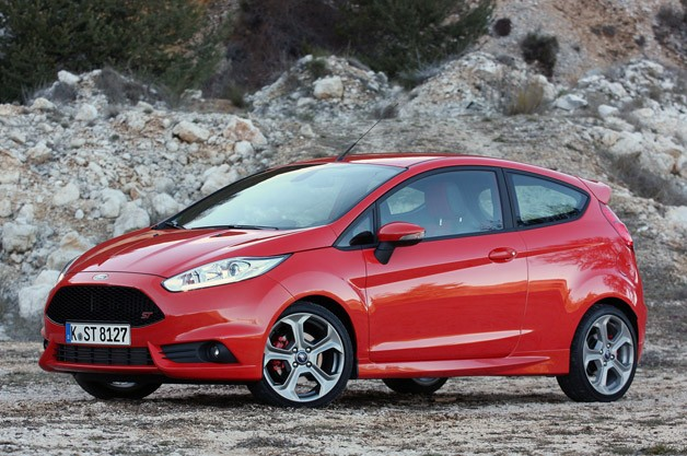 2014 Ford Fiesta ST - front three-quarter view