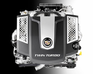 2014 Cadillac CTS 3.6L twin-turbo V6