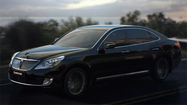 2014 Hyundai Equus facelift suggested forward of NY debut