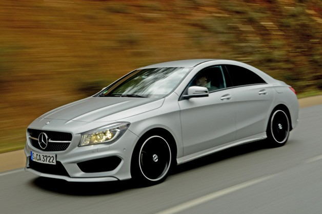 2014 Mercedes-Benz CLA-Class - front three-quarter dynamic view