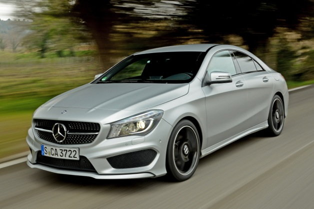 Meet Mercedes' Mighty Little Sedan