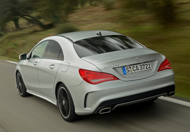 We're eager for the more interesting CLA 45 AMG.