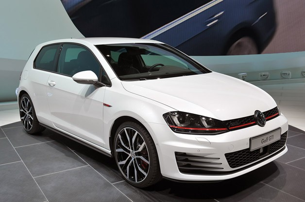 2014 Volkswagen GTI - live on stand at 2013 Geneva Motor Show