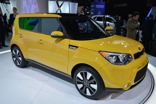 2014 Kia Soul totally redesigned, now bigger and more refined