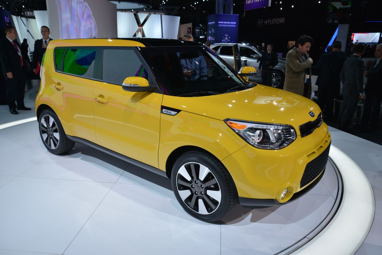 2014 Kia Soul Totally Redesigned Now Bigger And More